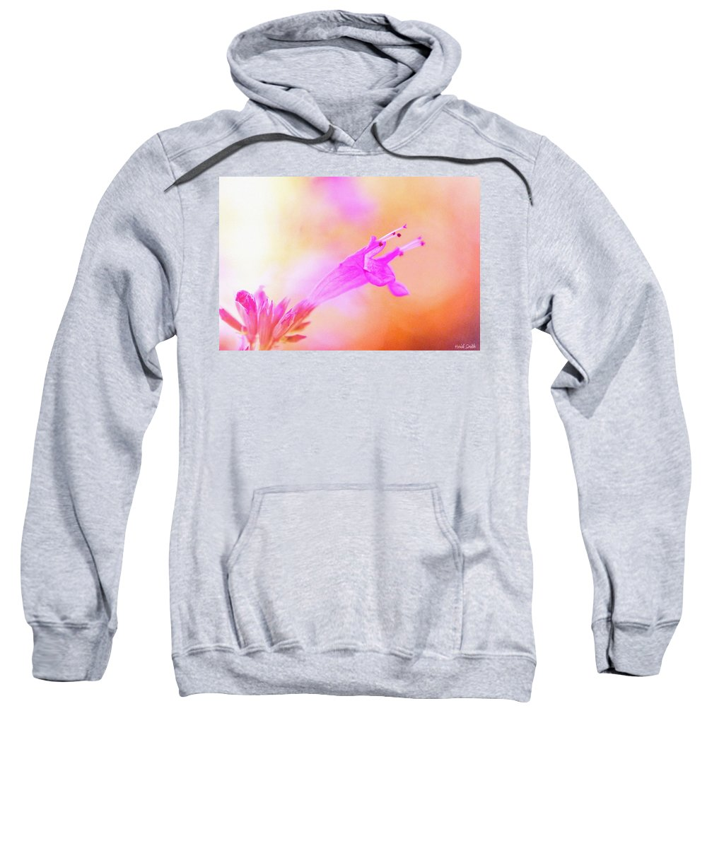 Flower Sweatshirt featuring the photograph Standout by Heidi Smith