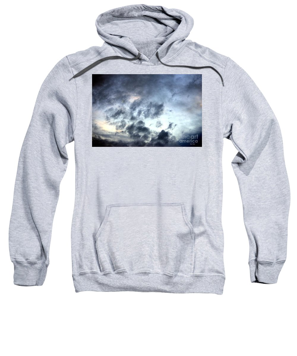 Storm Sweatshirt featuring the photograph Storm Clouds At Dawn by Maria Urso
