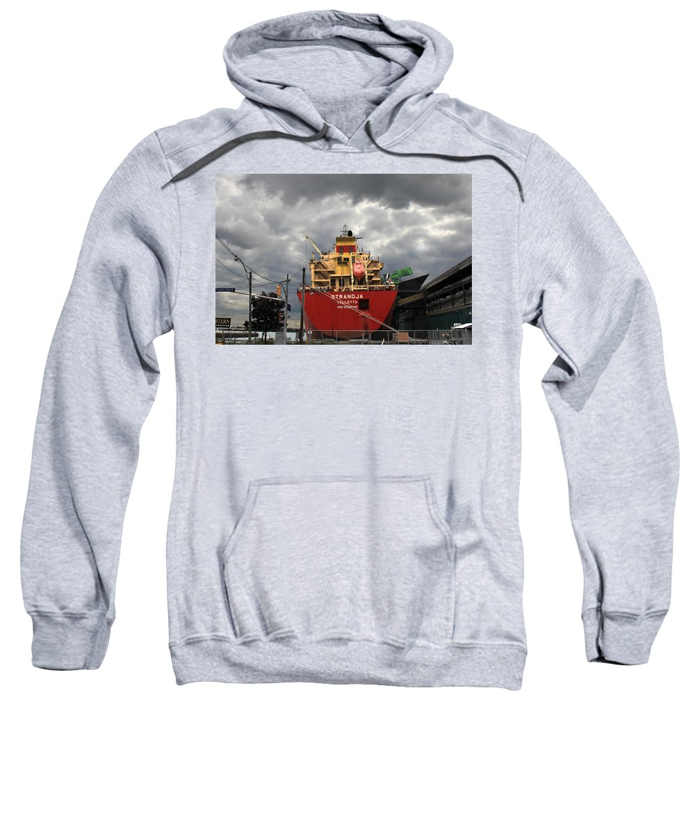 Ship Sweatshirt featuring the photograph Sugar Ship by Andrew Fare