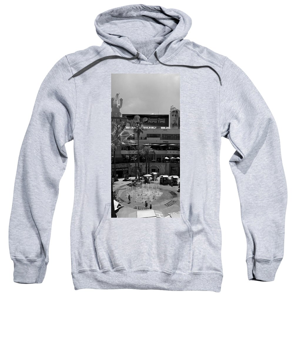 People Sweatshirt featuring the photograph Summer In Hollywood by Ricky Barnard