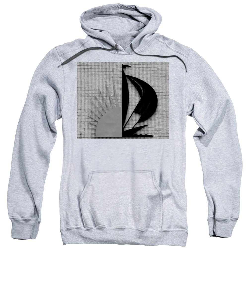 Sun Sweatshirt featuring the photograph Sun And Sail by Rob Hans