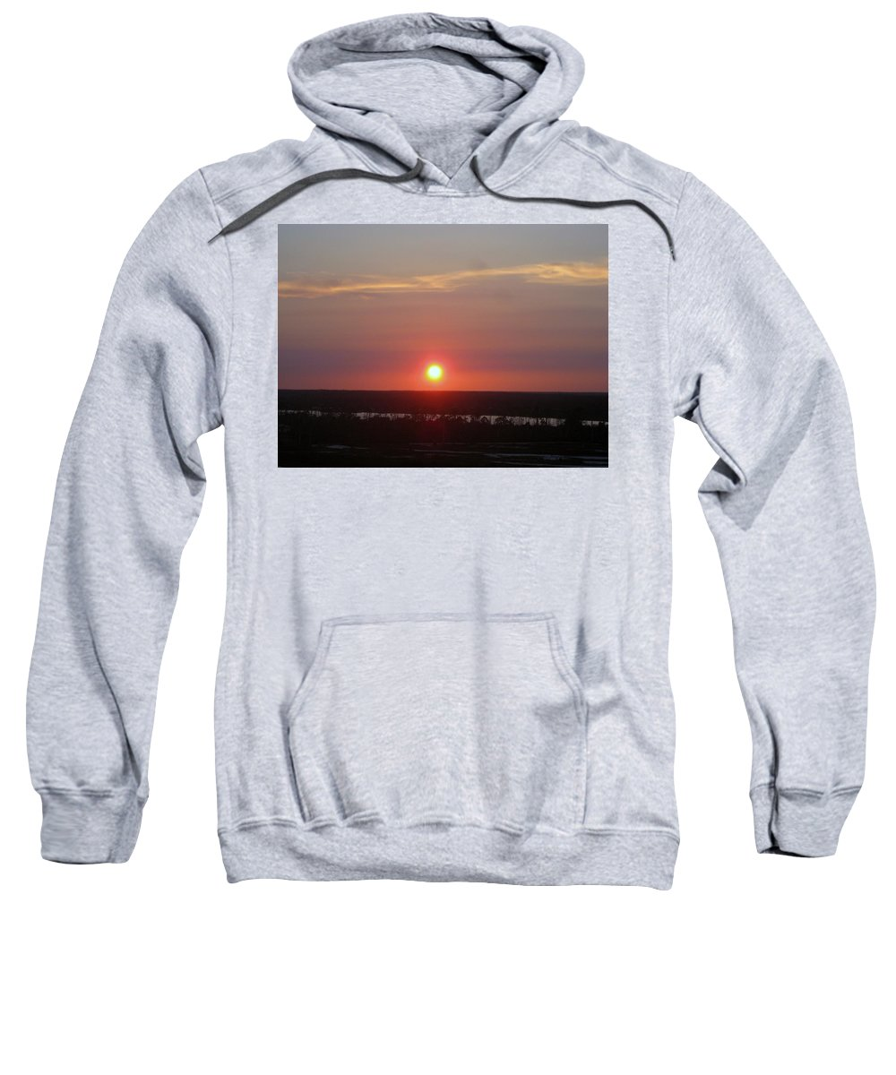 Florida Sweatshirt featuring the photograph Sun Set On The Bayou by Robert Margetts