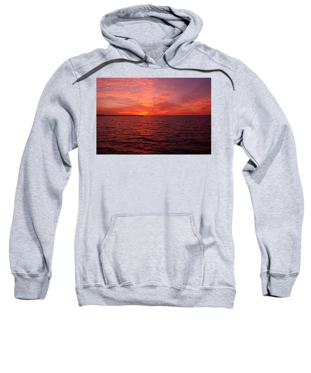 Sunset Sweatshirt featuring the photograph Sunset Iv by Joe Faherty