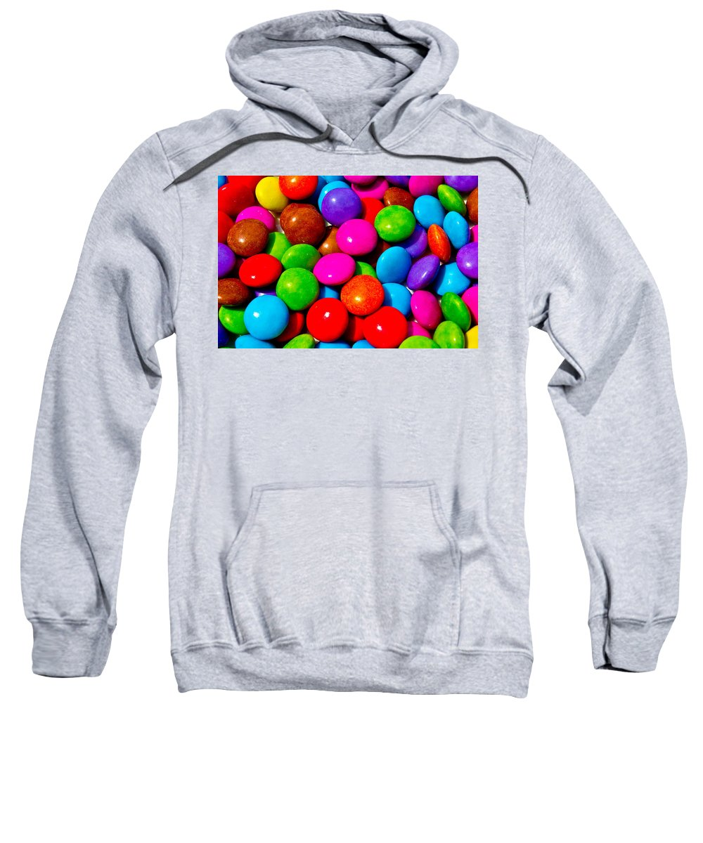 Sweet Sweatshirt featuring the digital art Sweet Abstract by David Pyatt