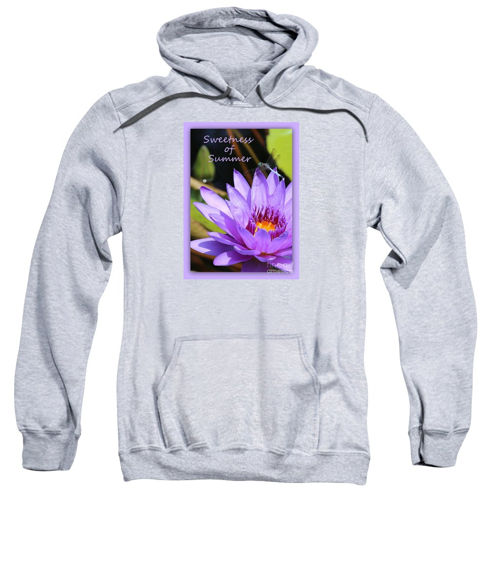 Summer Card Sweatshirt featuring the photograph Sweetness Of Summer by Carol Groenen