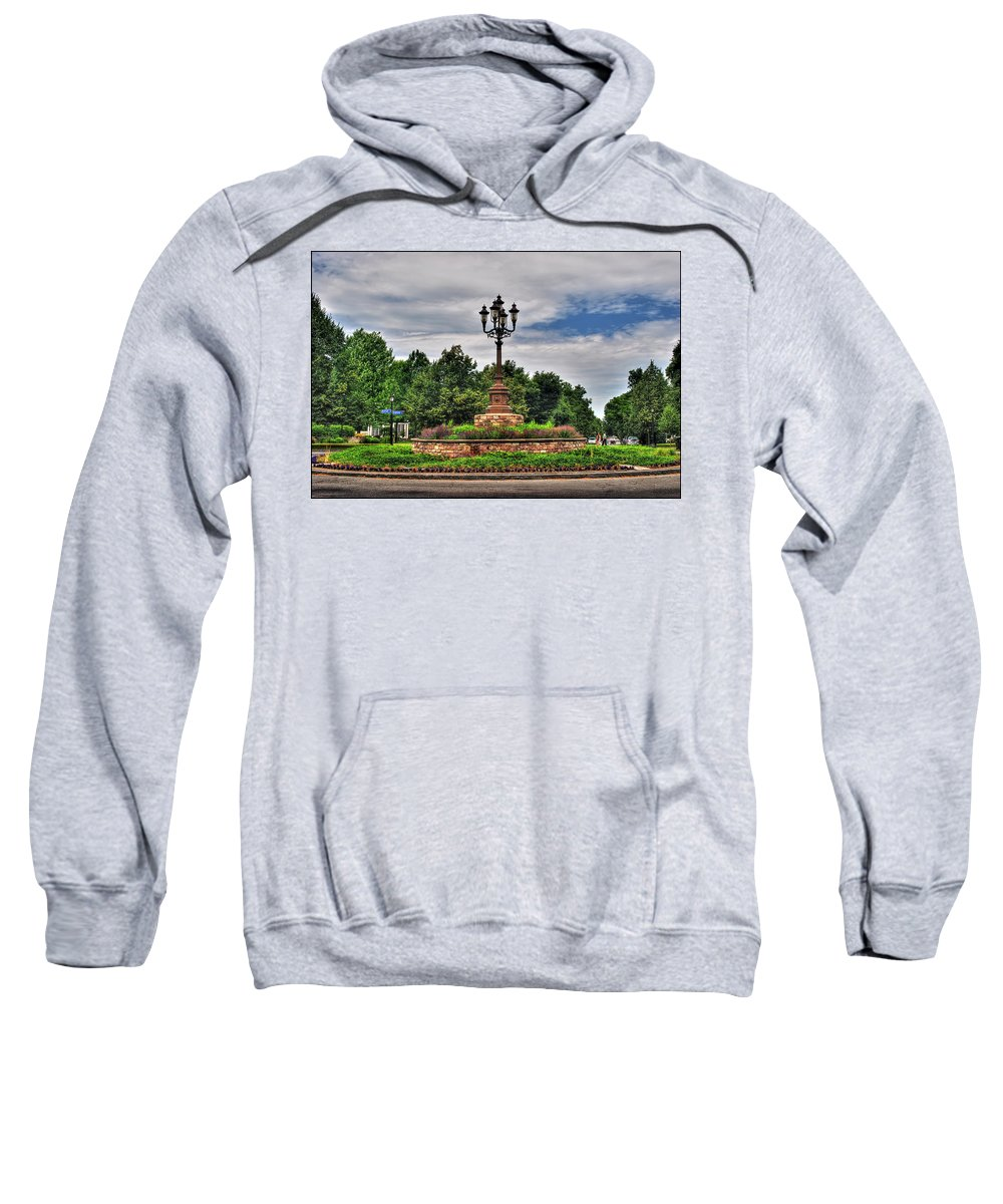 Sweatshirt featuring the photograph Symphony Circle by Michael Frank Jr