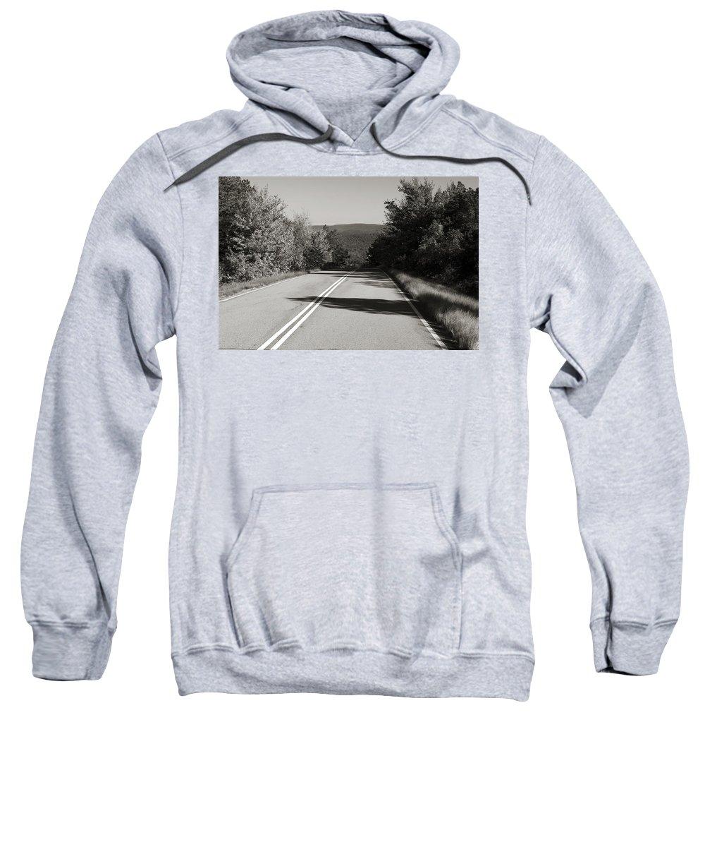 Adventure Sweatshirt featuring the photograph Talimena Roads I by Ricky Barnard