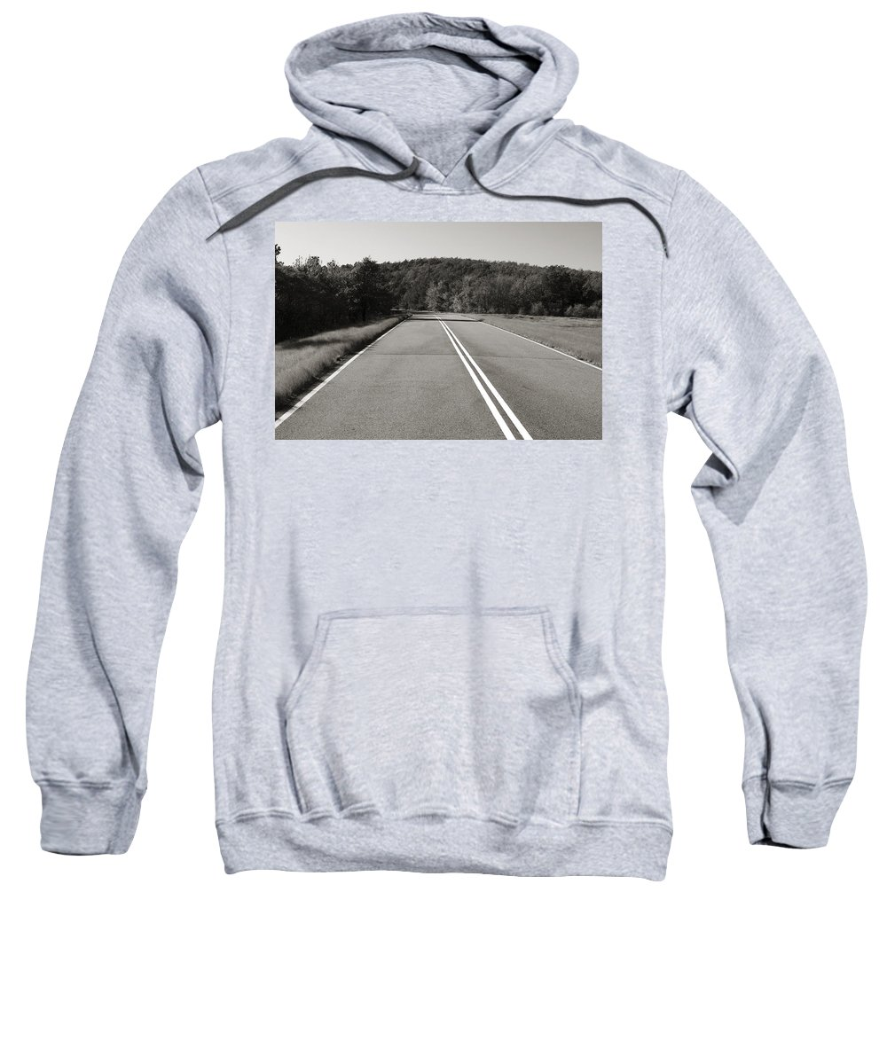 Adventure Sweatshirt featuring the photograph Talimena Roads IIi by Ricky Barnard