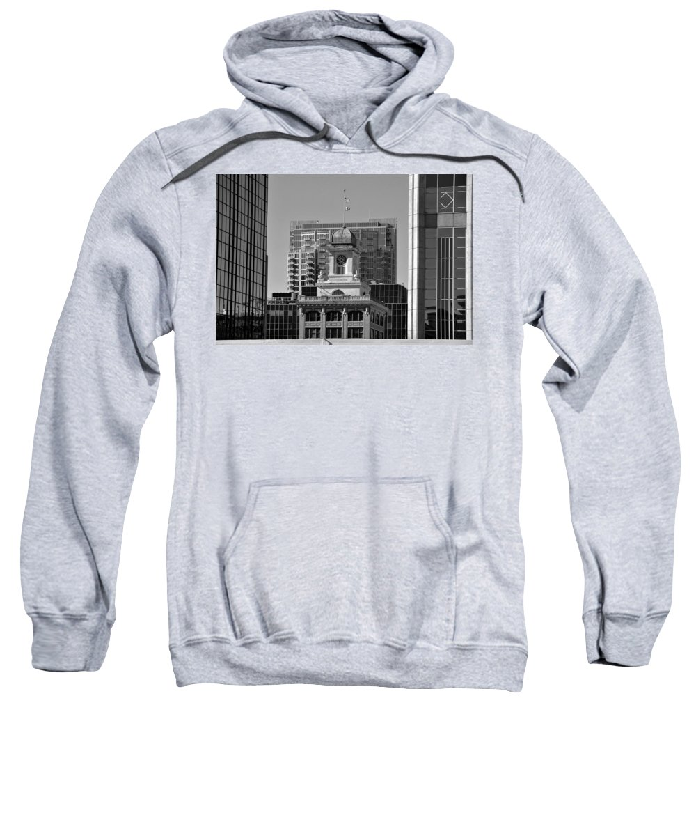 Tampa Courthouse Building Sweatshirt featuring the photograph Tampa Courthouse 1905 by David Lee Thompson