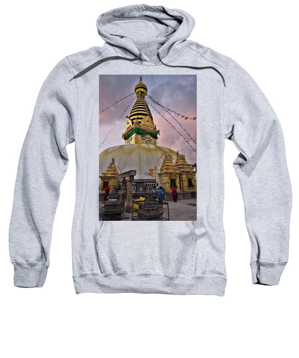 Temple Sweatshirt featuring the photograph Temple by Ivan Slosar