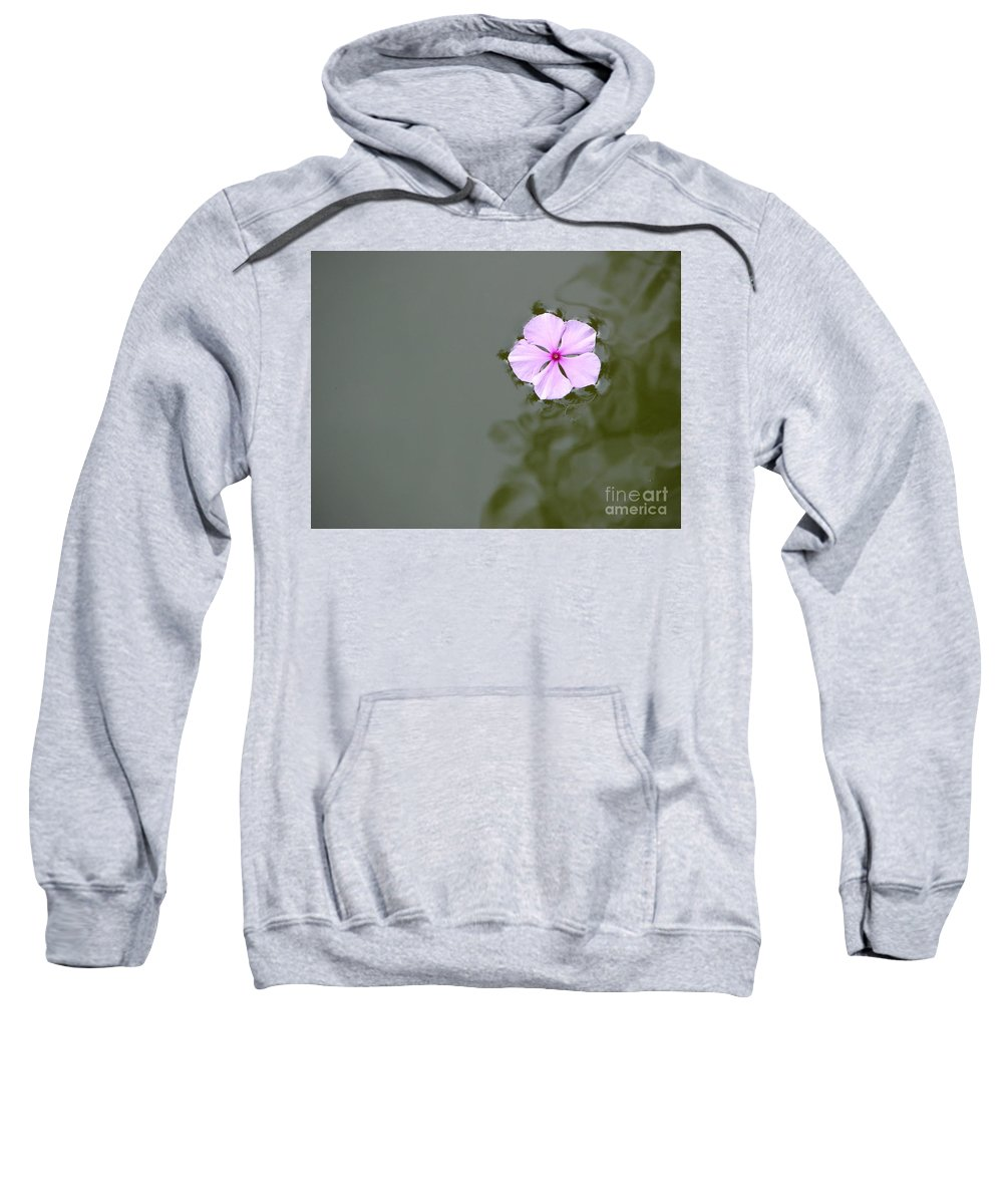 Water Sweatshirt featuring the photograph Tenuous by Priscilla Richardson