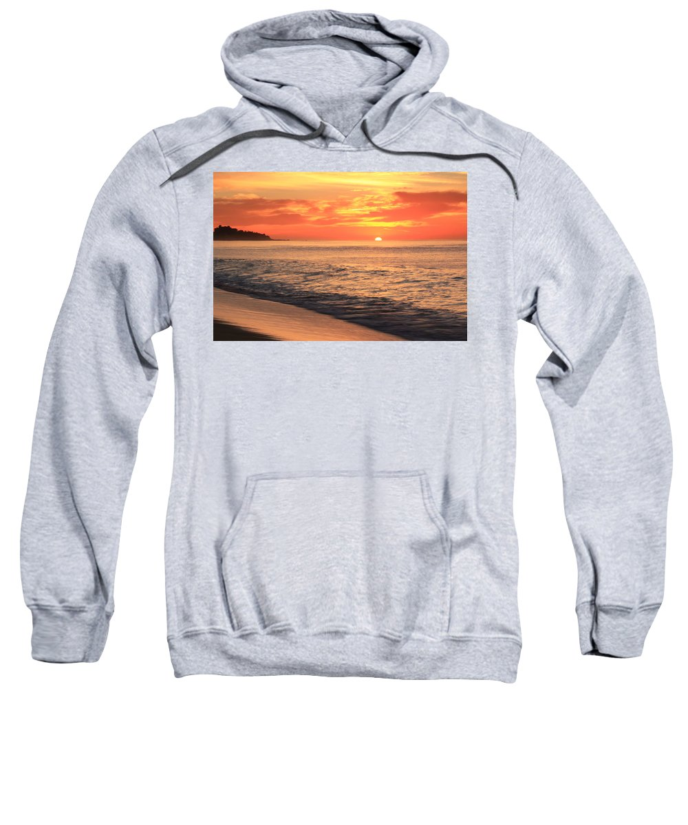Tequila Sunrise Sweatshirt featuring the photograph Tequila Sunrise by Roupen Baker