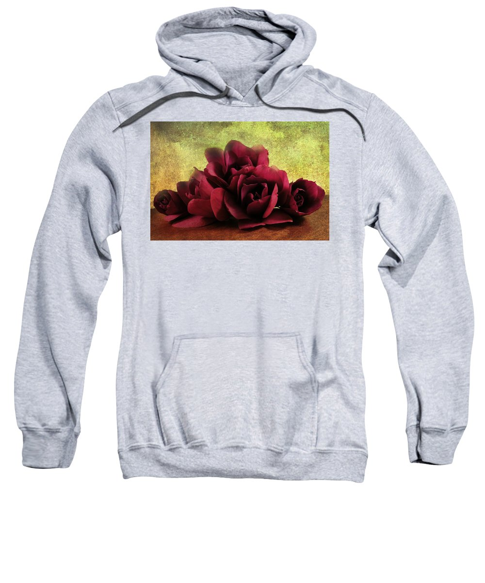 Magnolia Sweatshirt featuring the photograph The Artists Palette by Georgiana Romanovna