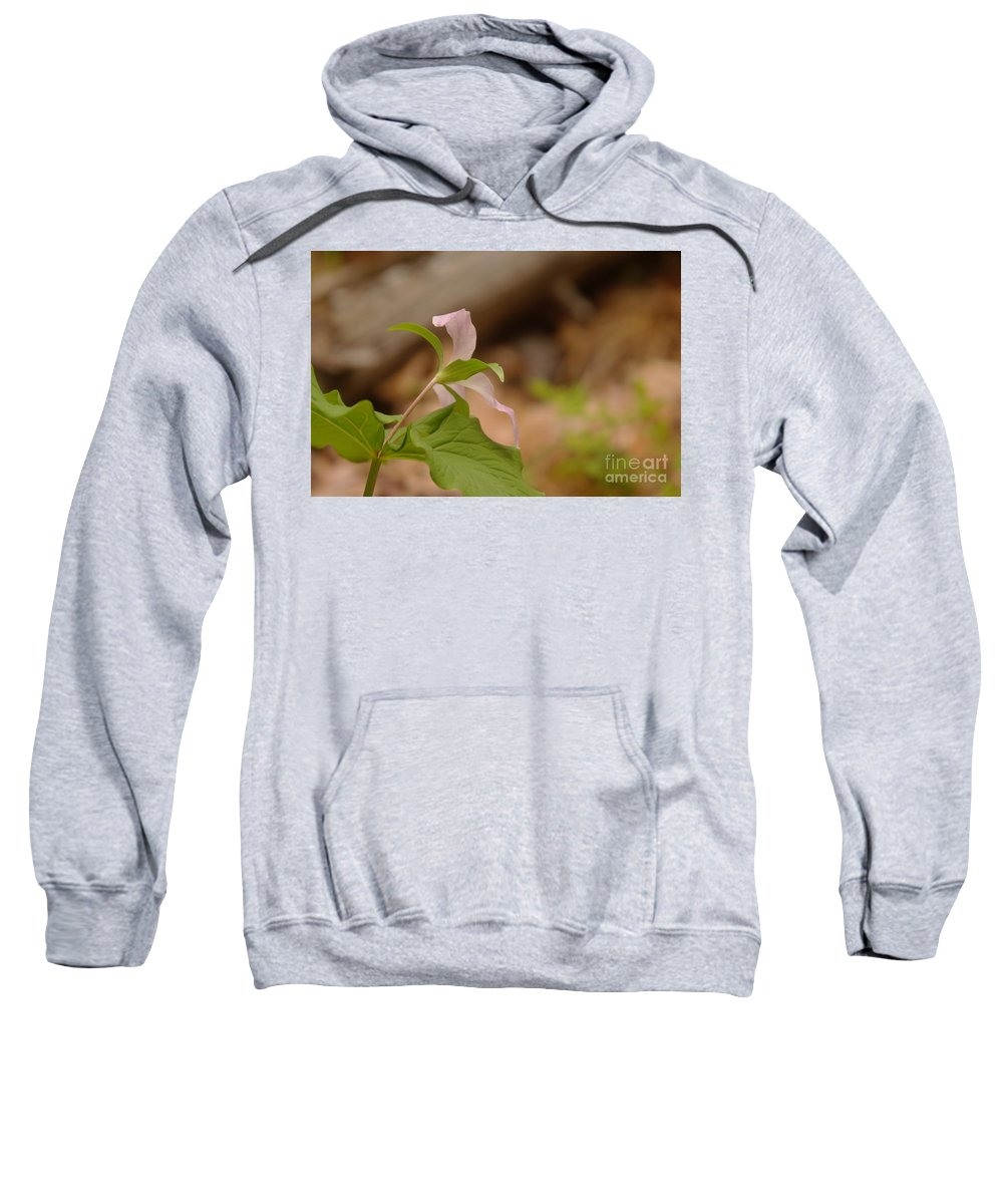 Floral Sweatshirt featuring the photograph The Backside Of by Jeff Swan