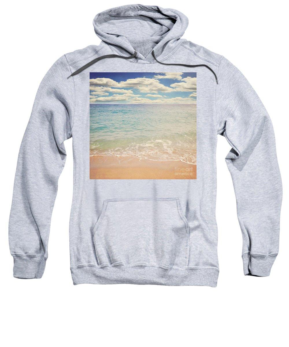 Beach Sweatshirt featuring the photograph The Beach by Lyn Randle