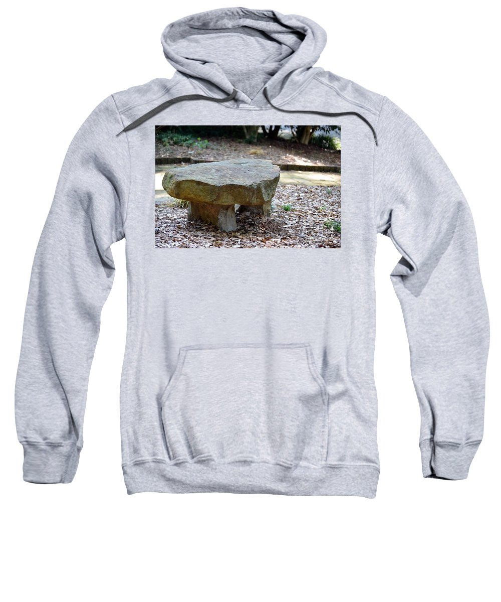 Empty Sweatshirt featuring the photograph The Empty Seat by Maria Urso