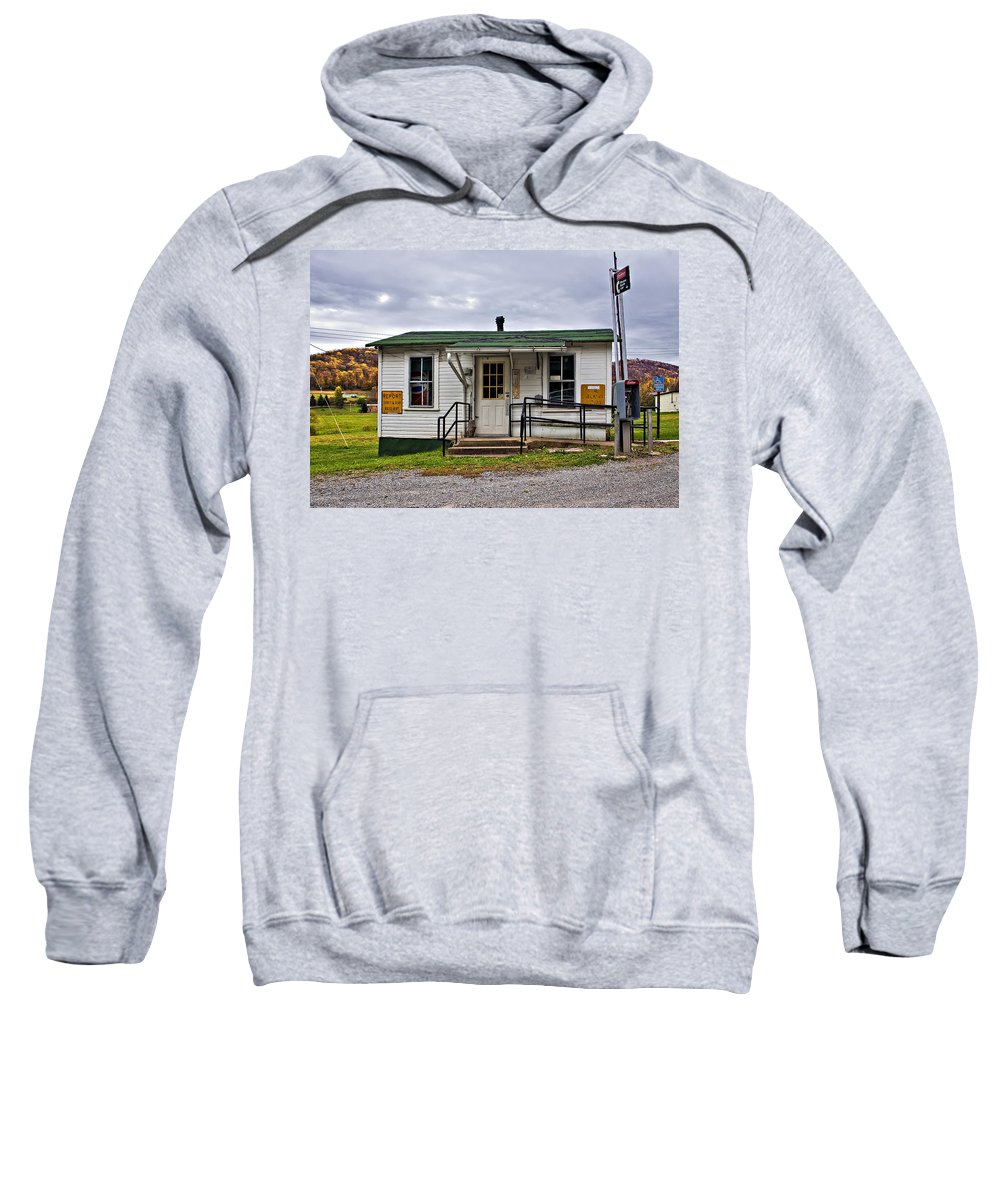 Glady Sweatshirt featuring the photograph The Heart Of Glady by Steve Harrington