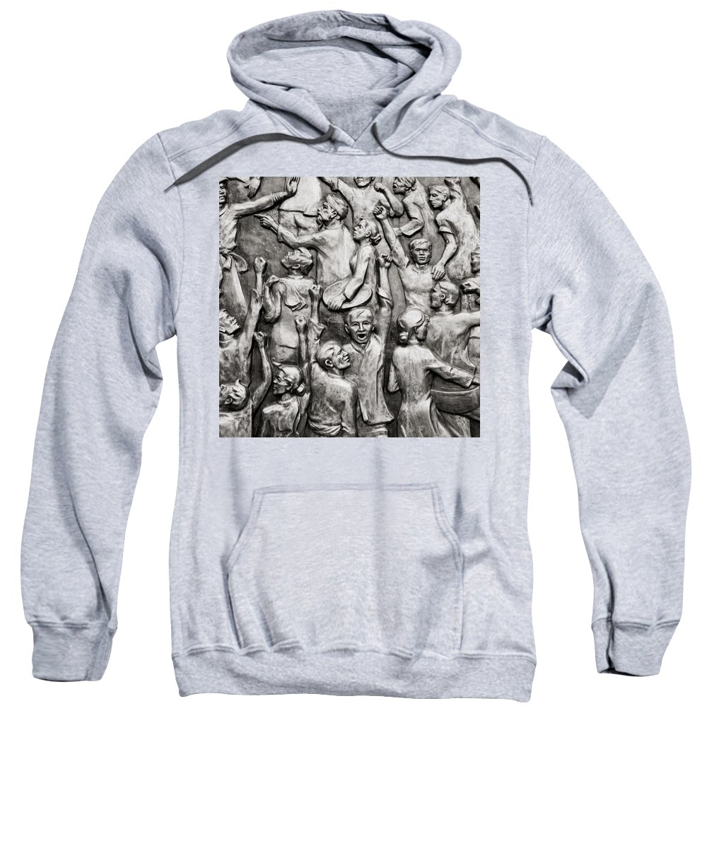 Asia Sweatshirt featuring the photograph The People by Shaun Higson