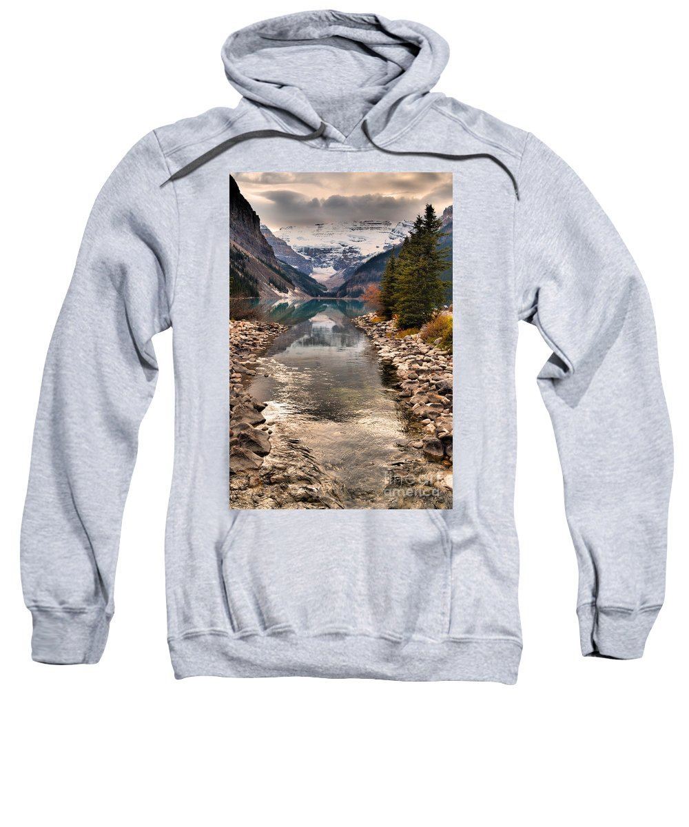 Mountains Sweatshirt featuring the photograph The Shimmer by Tara Turner