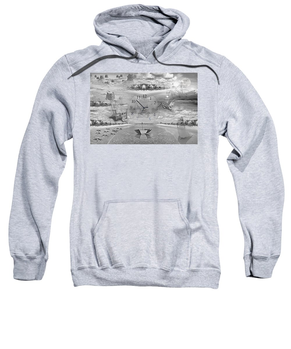 Beach Sweatshirt featuring the photograph Tidal Pools by Betsy Knapp