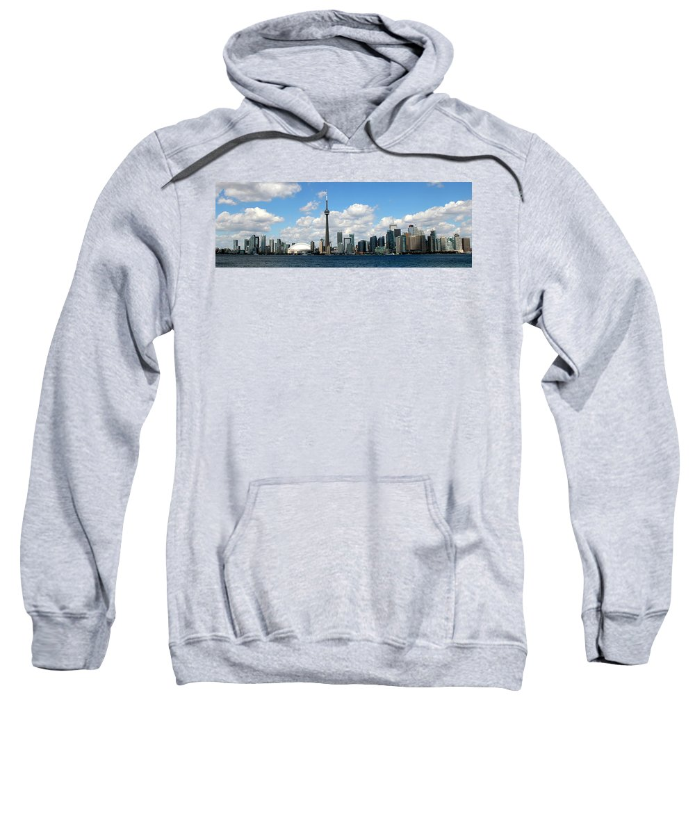 Toronto Skyline Sweatshirt featuring the photograph Toronto Skyline 10 by Andrew Fare