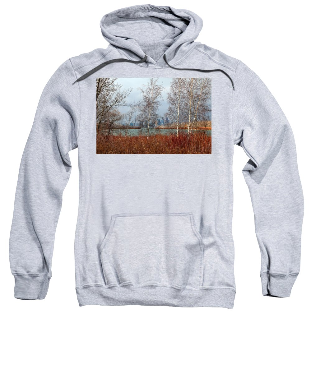 Toronto Skyline Sweatshirt featuring the photograph Toronto Skyline 14 by Andrew Fare