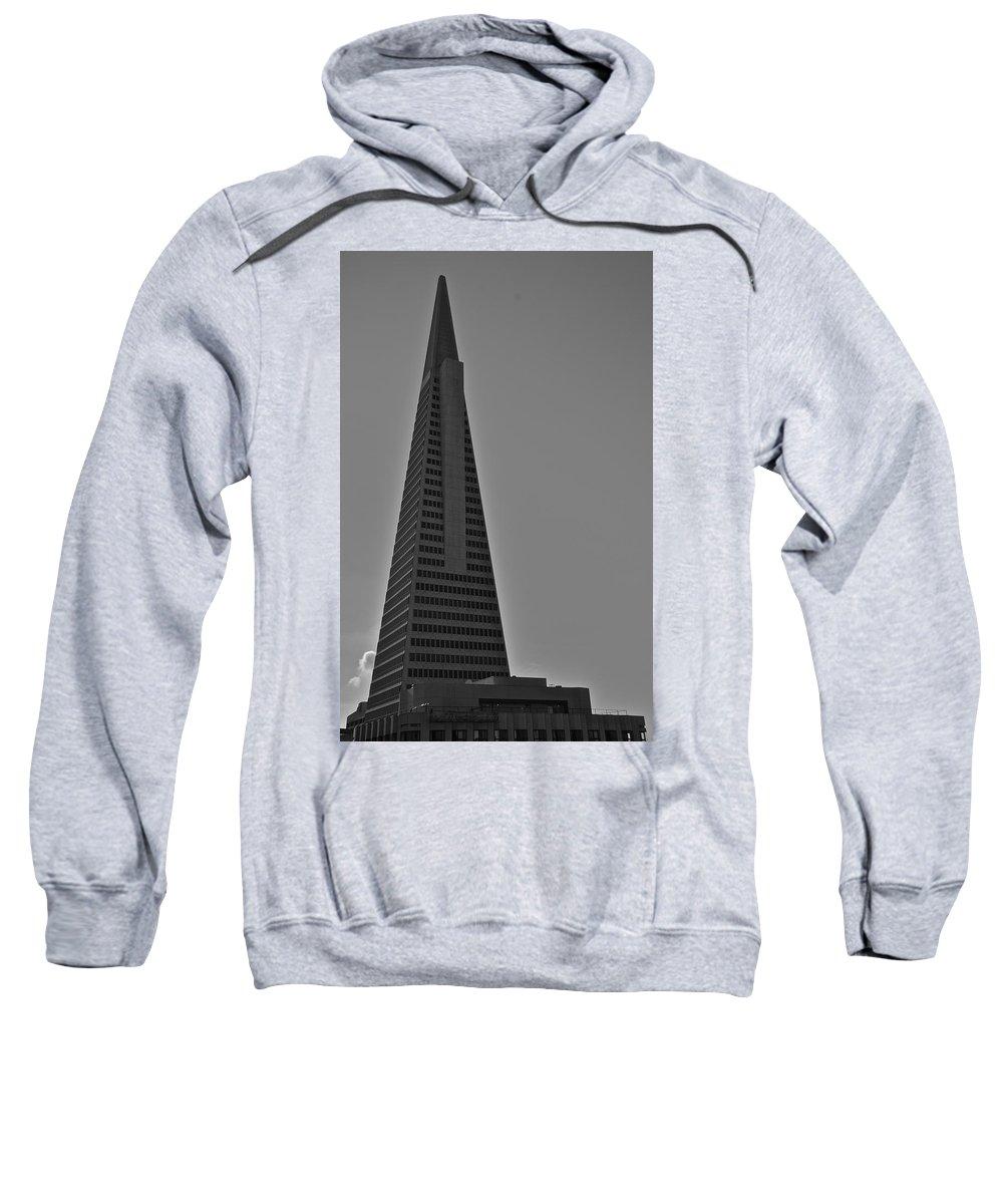 Transamerica Building Sweatshirt featuring the photograph Transamerica Building by Eric Tressler