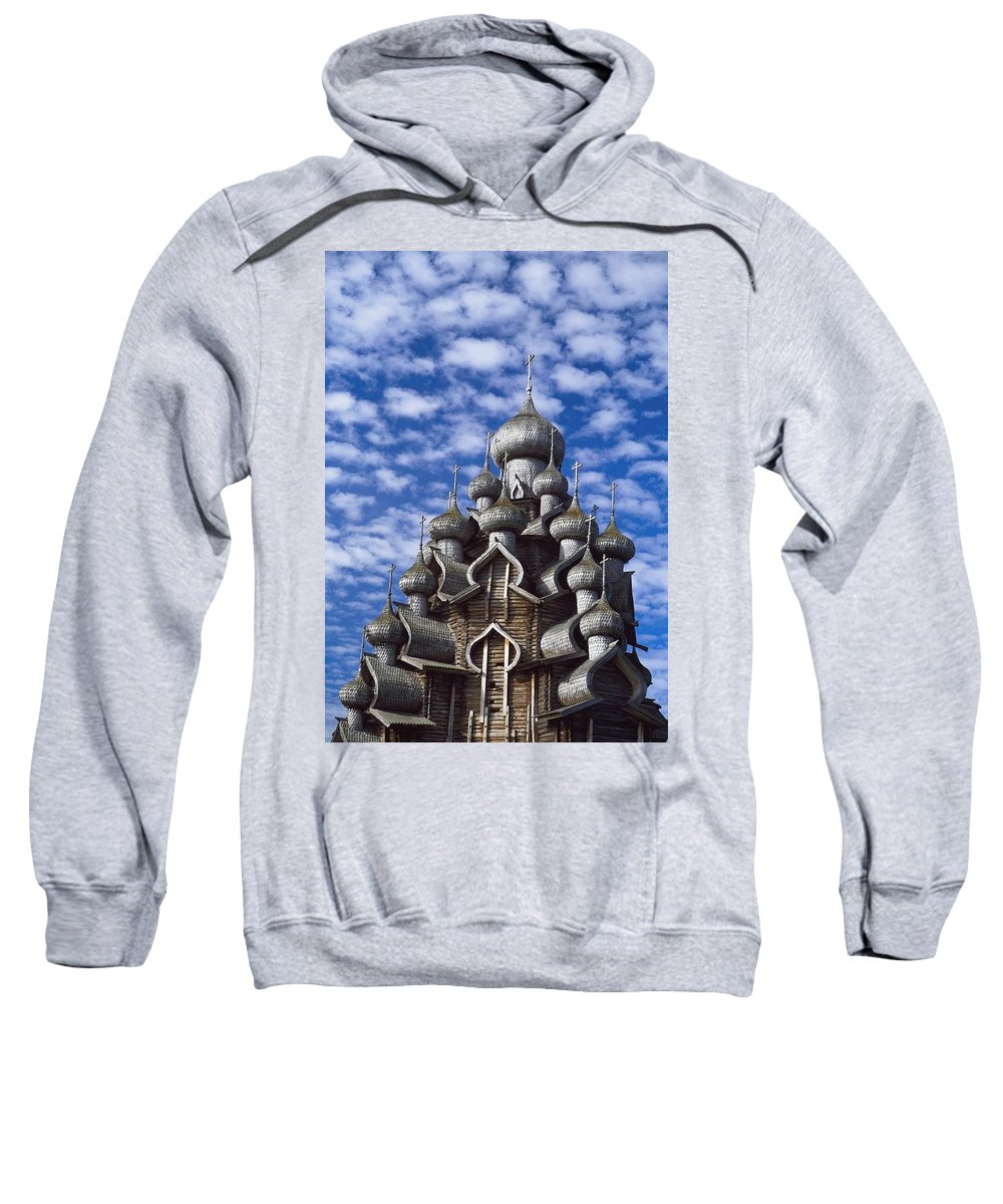 Vertical Sweatshirt featuring the photograph Transfiguration Cathedral by Axiom Photographic
