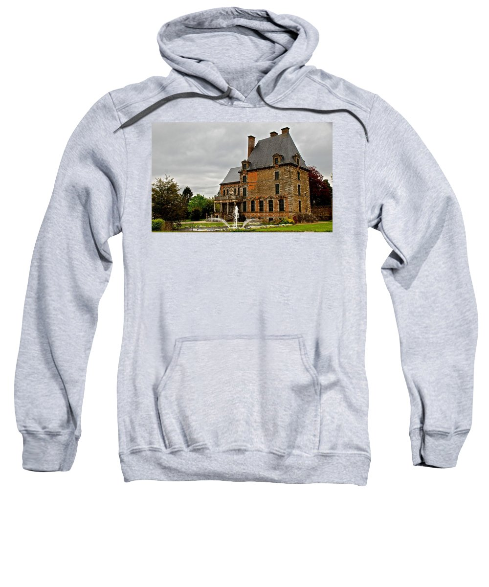 France Sweatshirt featuring the photograph Tres Francais by Eric Tressler