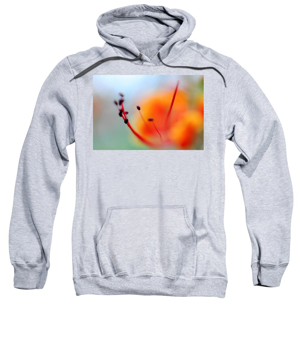 Flower Sweatshirt featuring the photograph Tropical Delight. Natural Watercolor by Jenny Rainbow