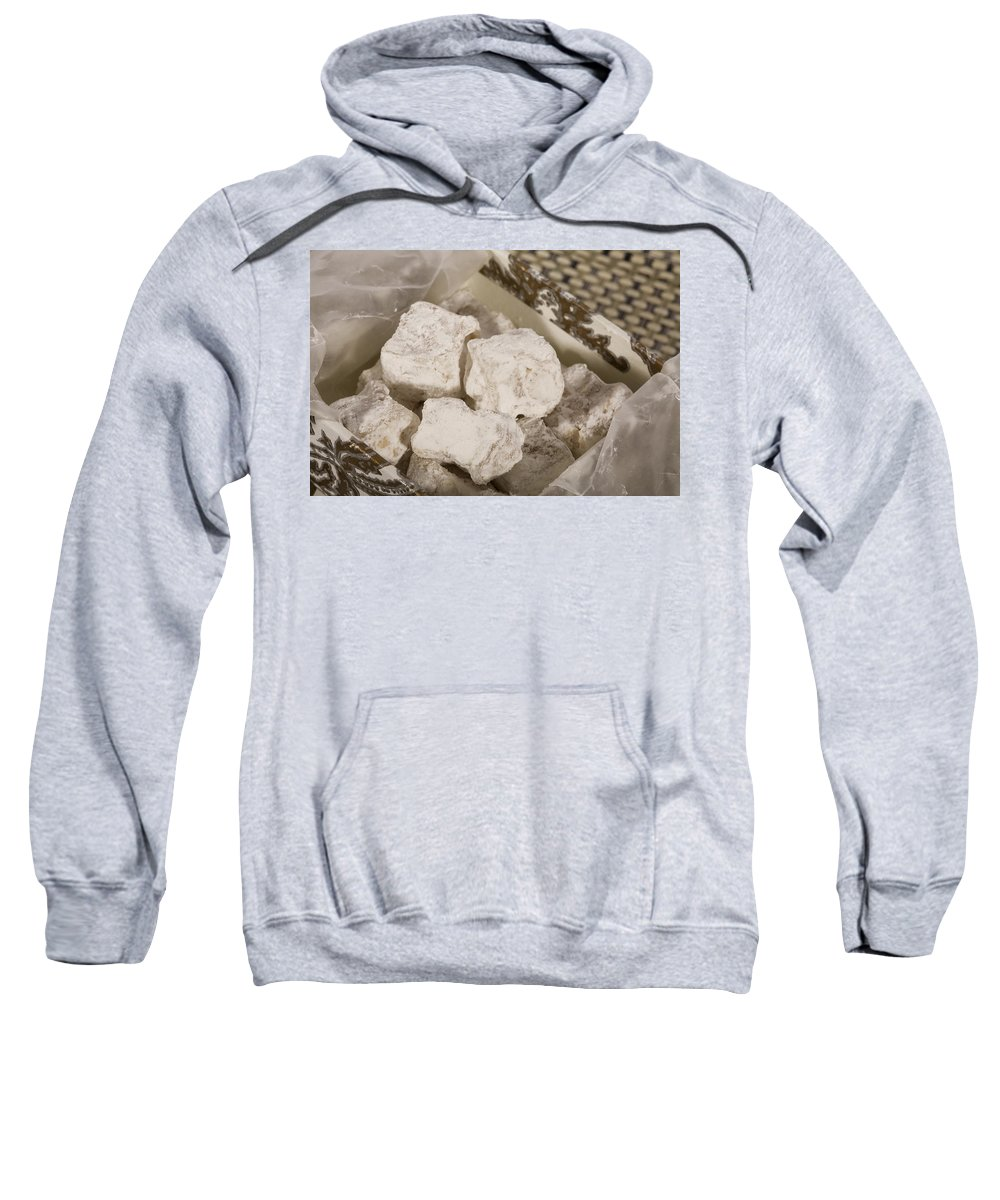 Turkish Delight Sweatshirt featuring the photograph Turkish Delight In A Box by Diane Macdonald