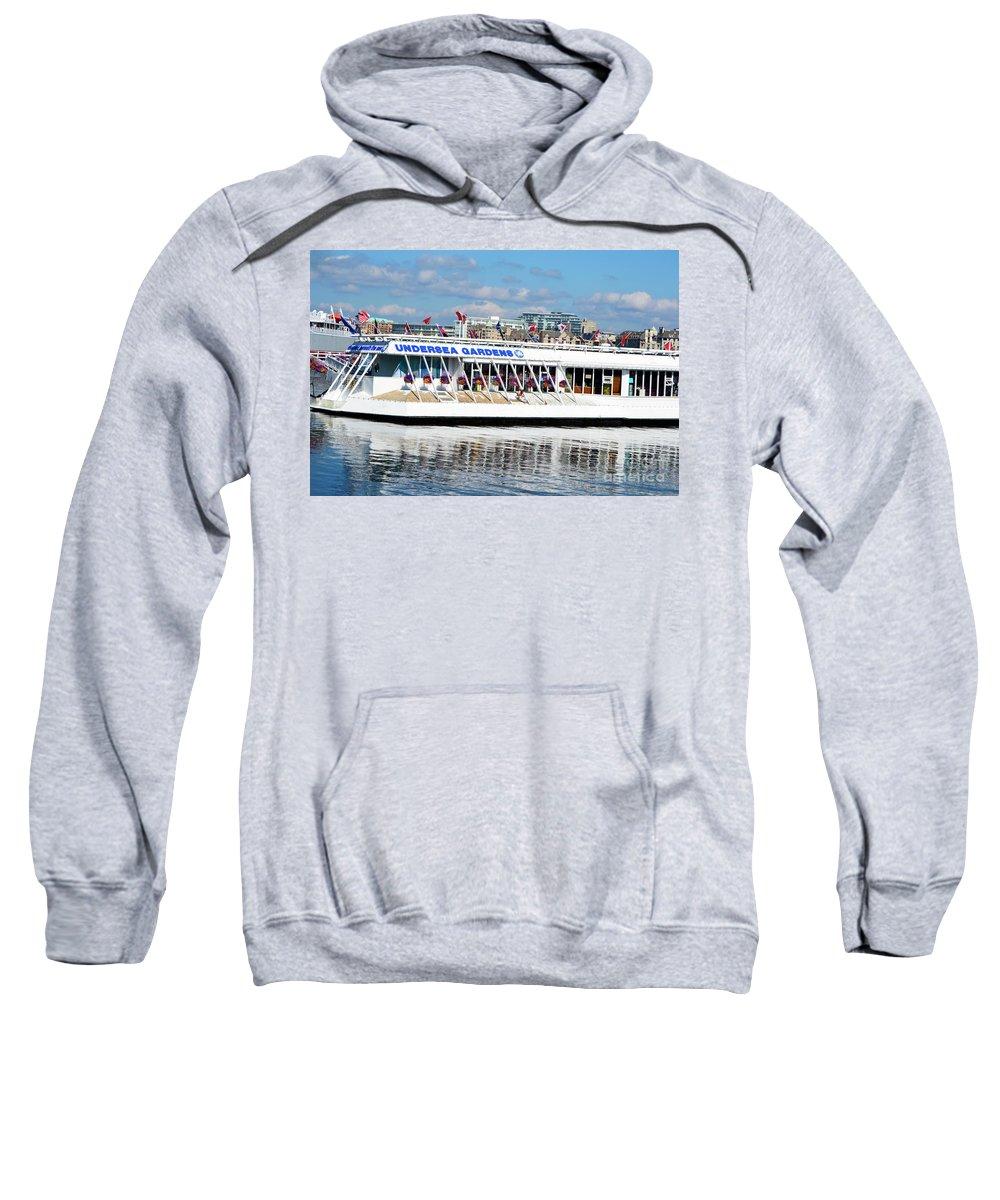 British Columbia Sweatshirt featuring the photograph Undersea Gardens by Traci Cottingham