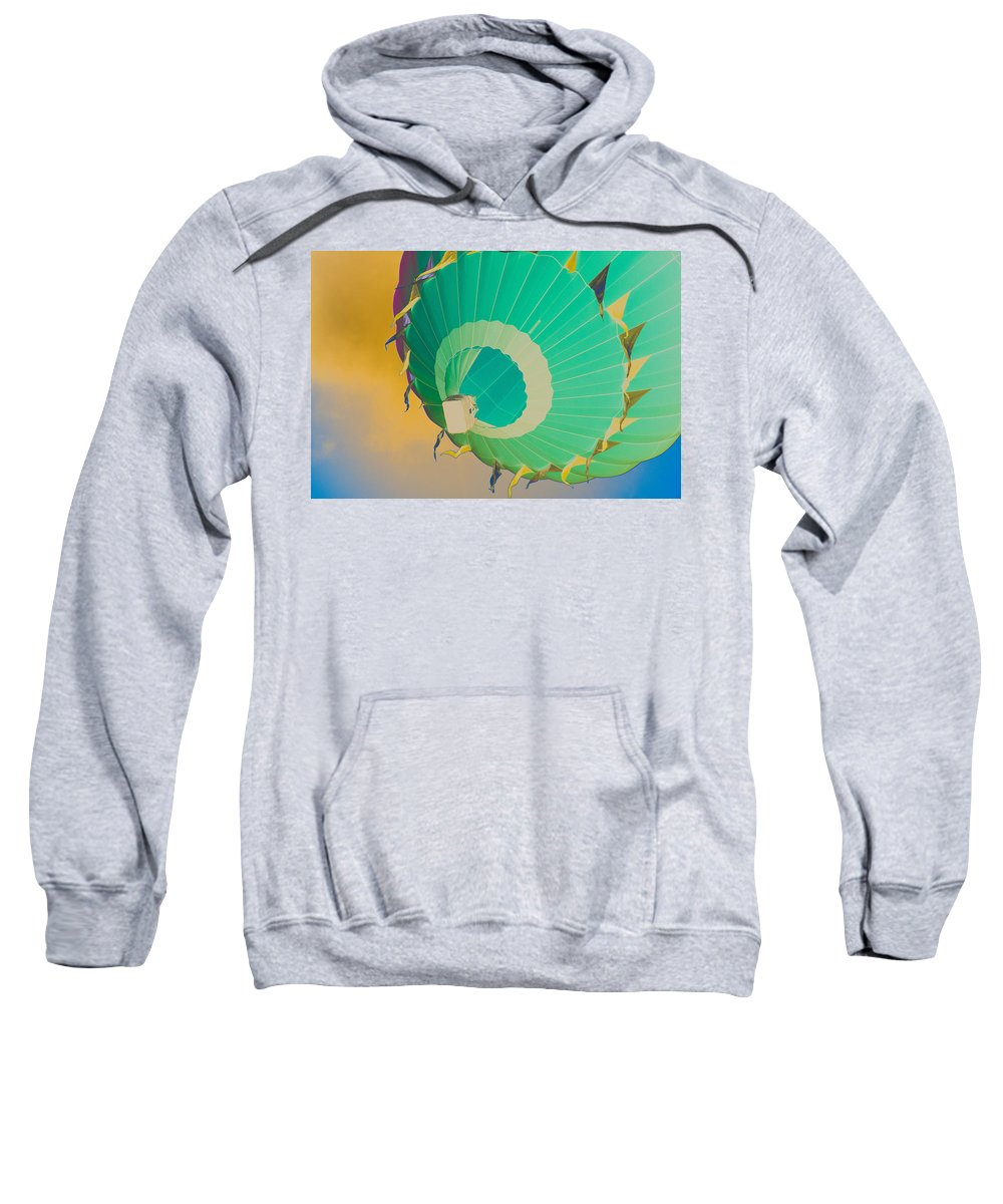 Sky Sweatshirt featuring the photograph Up Up And Away by Trish Tritz
