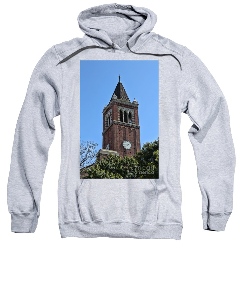 Usc Sweatshirt featuring the photograph Usc's Clock Tower by Tommy Anderson