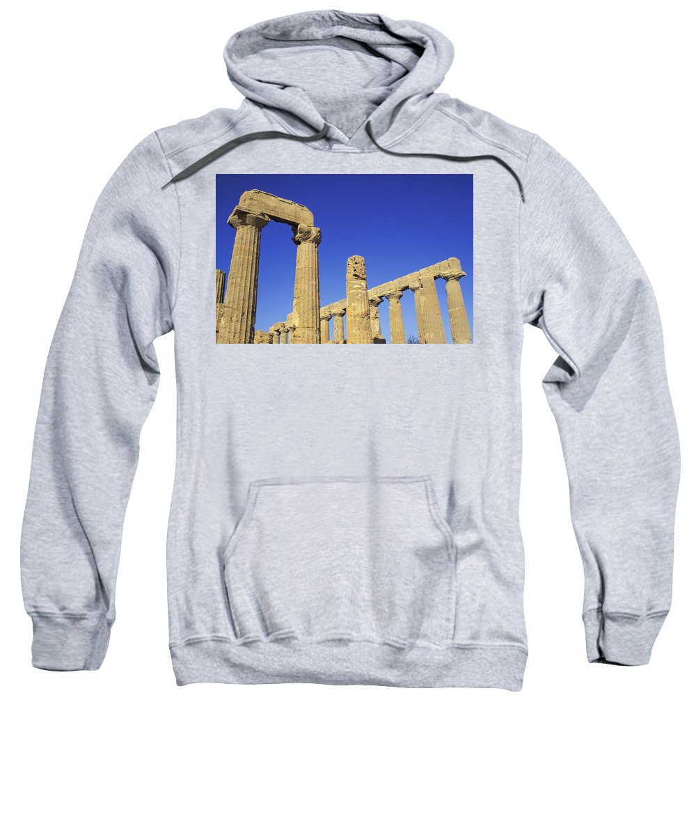 Photography Sweatshirt featuring the photograph Valley Of The Temples, Agrigento by Axiom Photographic