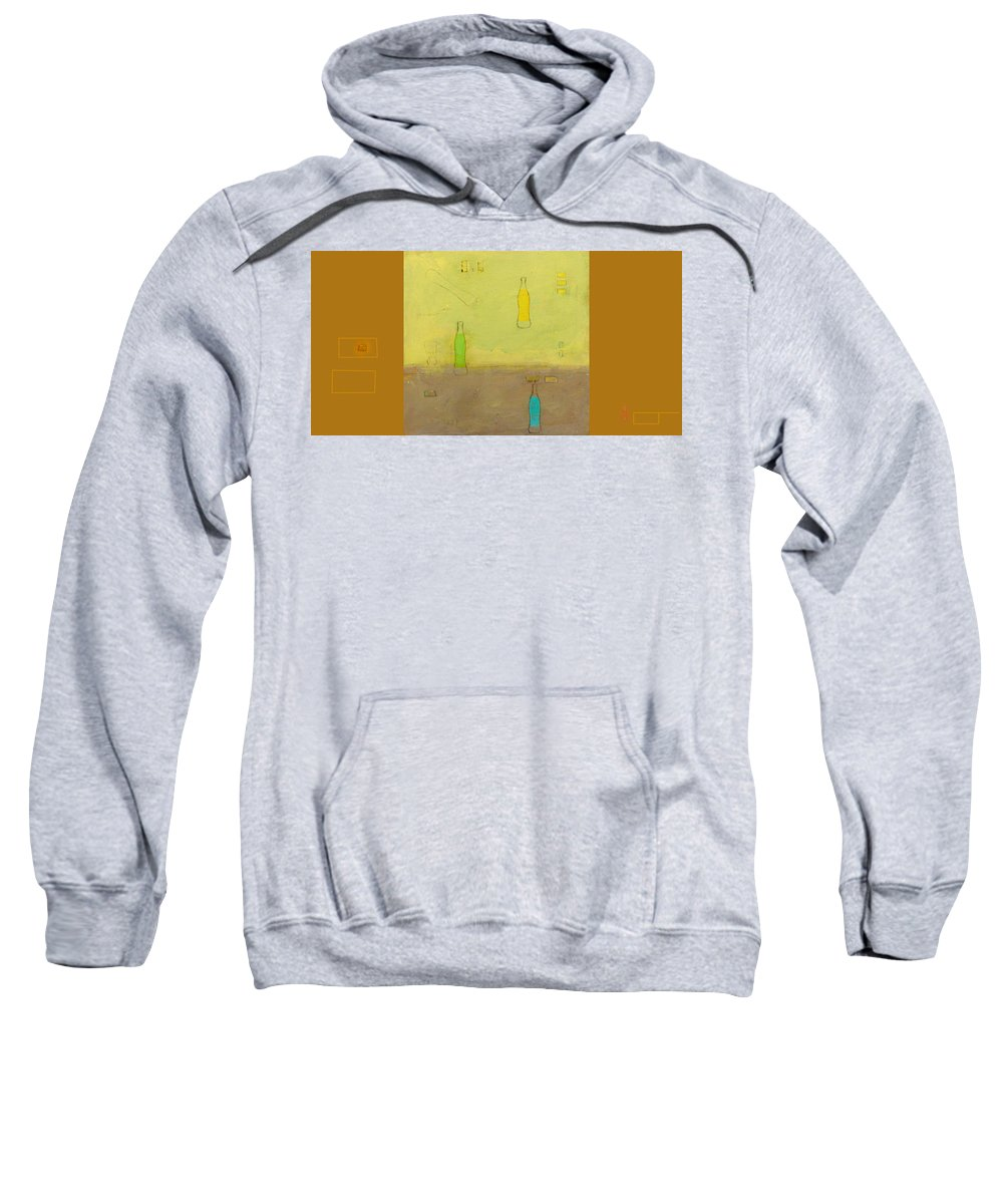Painting Sweatshirt featuring the mixed media Variations Three by Kathleen Grace