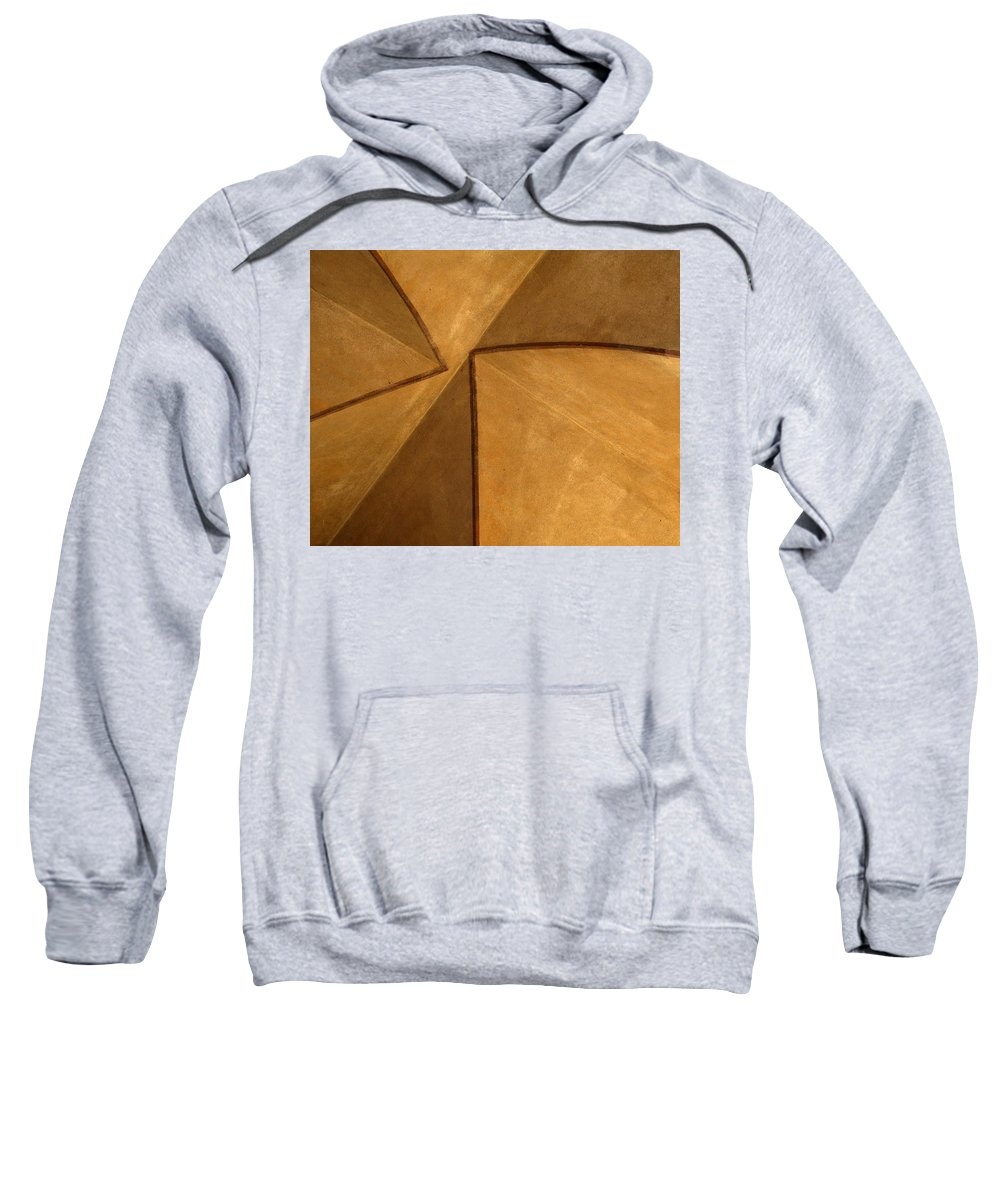 Abstract Sweatshirt featuring the photograph Vaulted Abstract II by Greg Matchick
