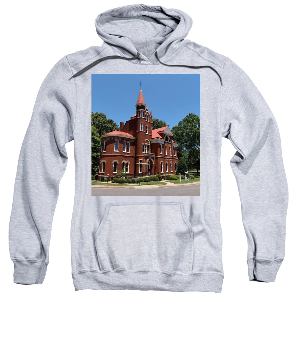 Ventress Hall Sweatshirt featuring the photograph Ventress Hall Ole Miss by Joshua House