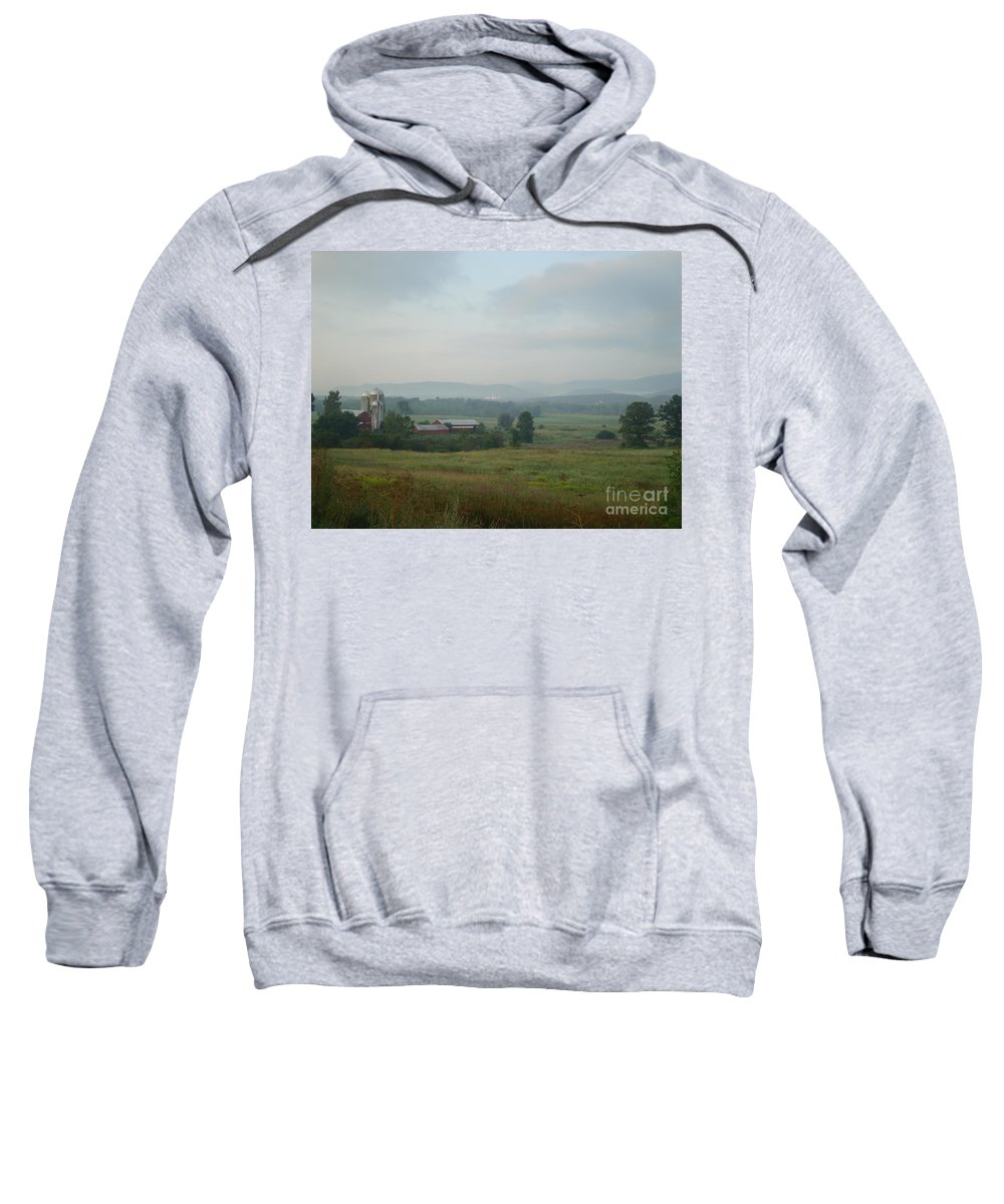 Vermont Sweatshirt featuring the photograph Vermont by Maili Page