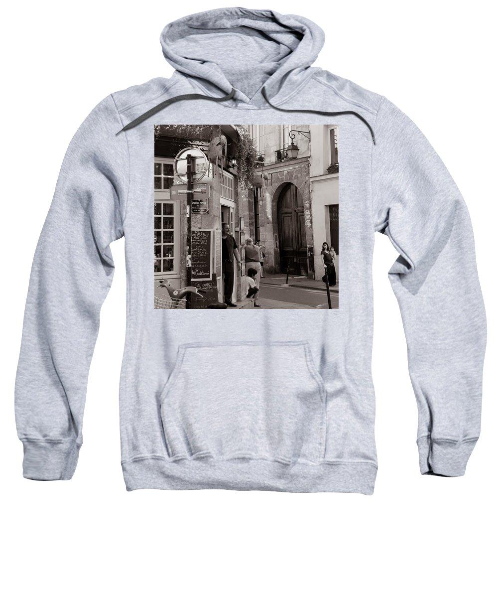 Paris Sweatshirt featuring the photograph Vintage Paris1 by Andrew Fare