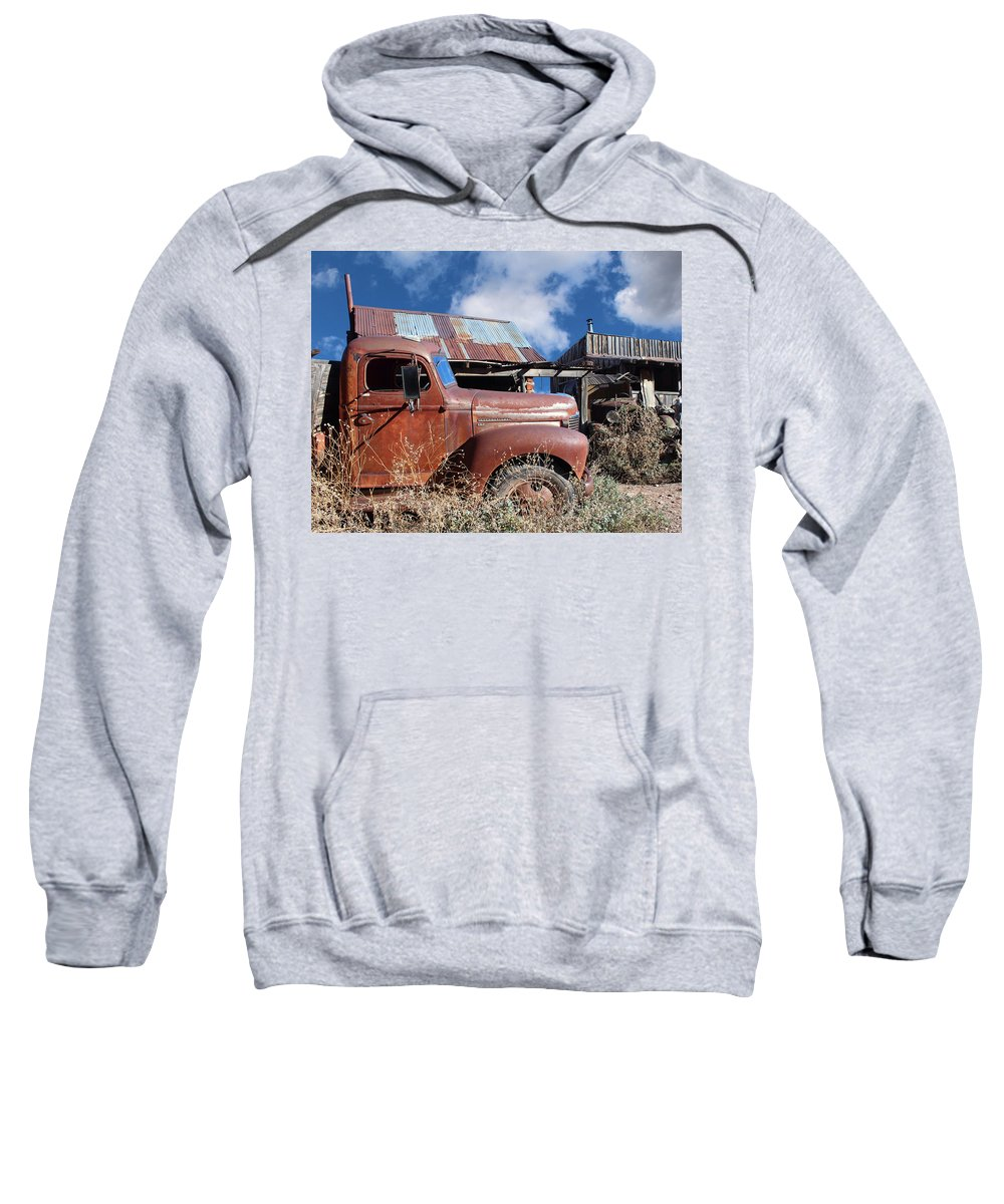 Kb5 Sweatshirt featuring the photograph Vintage Truck by Paul Fell