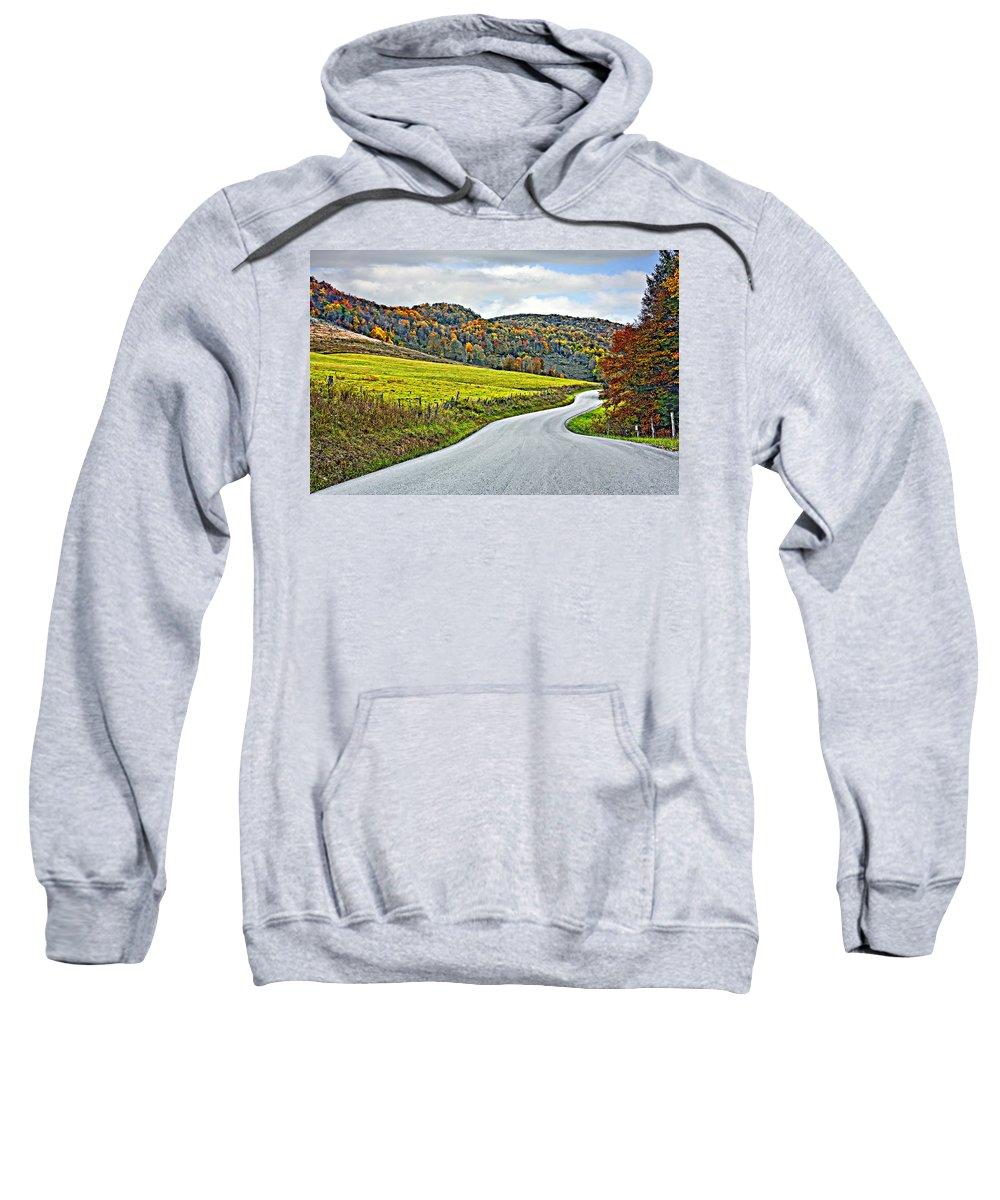 West Virginia Sweatshirt featuring the photograph Wandering In West Virginia by Steve Harrington