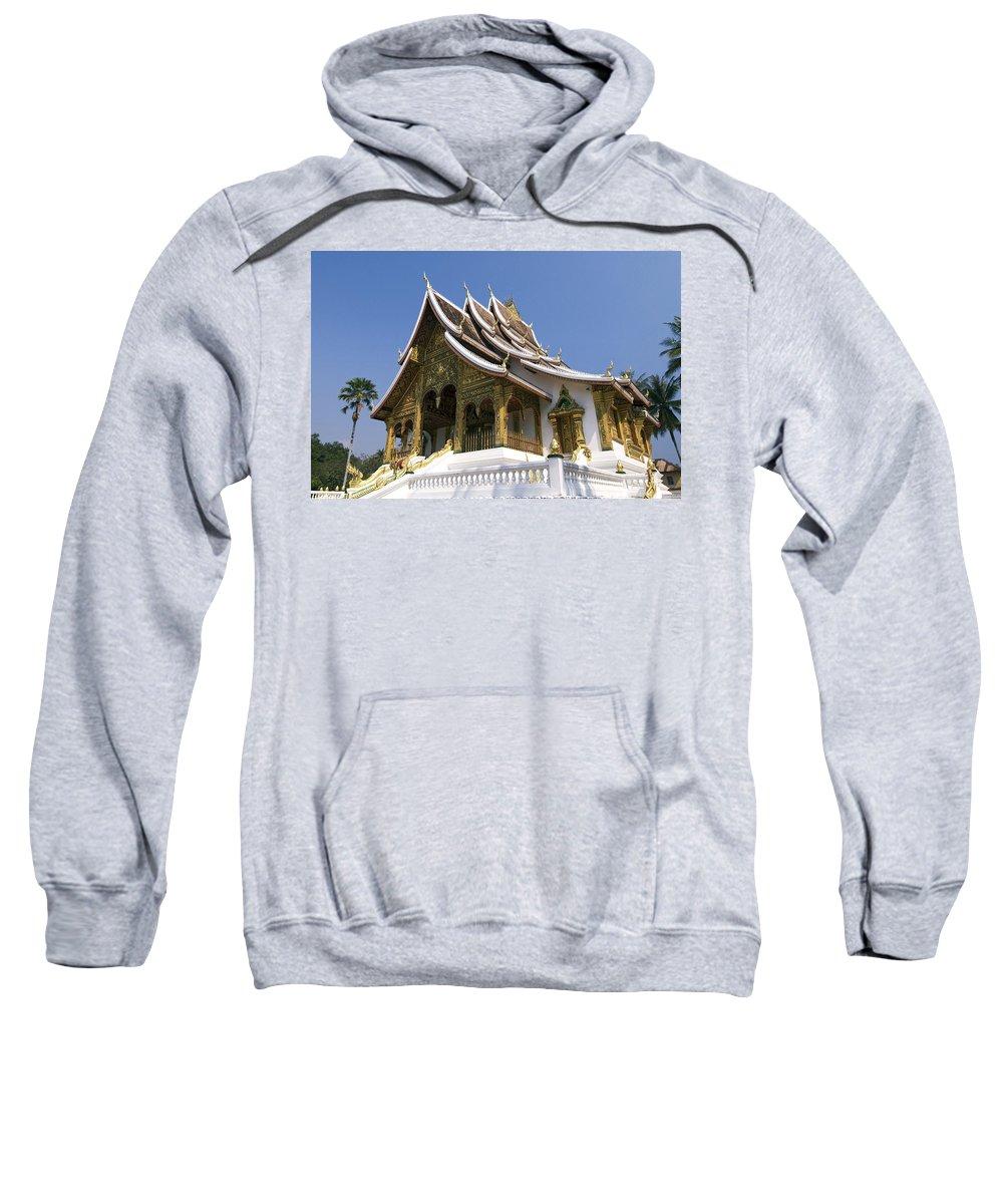 Architecture Sweatshirt featuring the photograph Wat Sen II by Gloria & Richard Maschmeyer