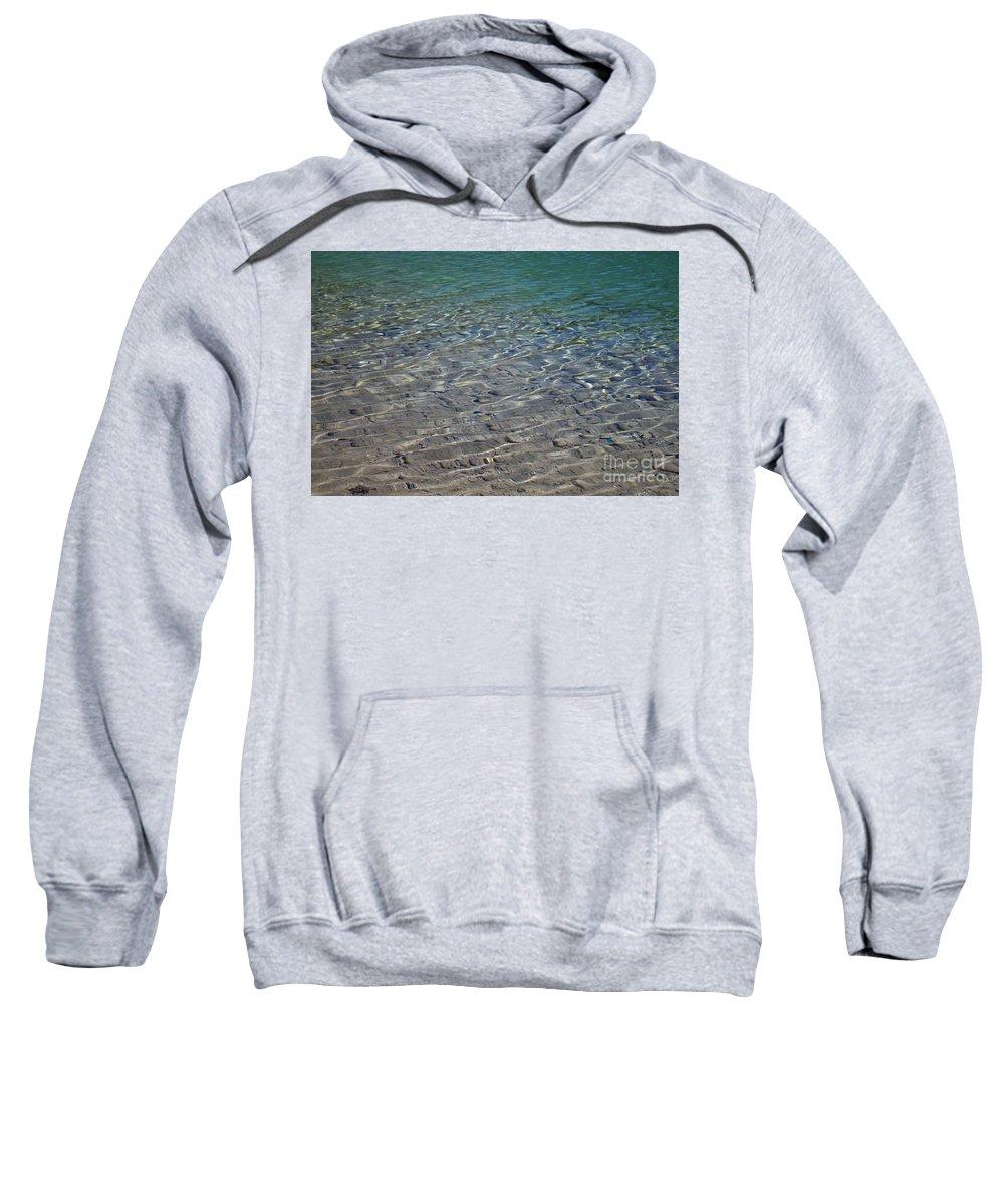 Landscape Sweatshirt featuring the photograph Water Depths Marine by Donna L Munro