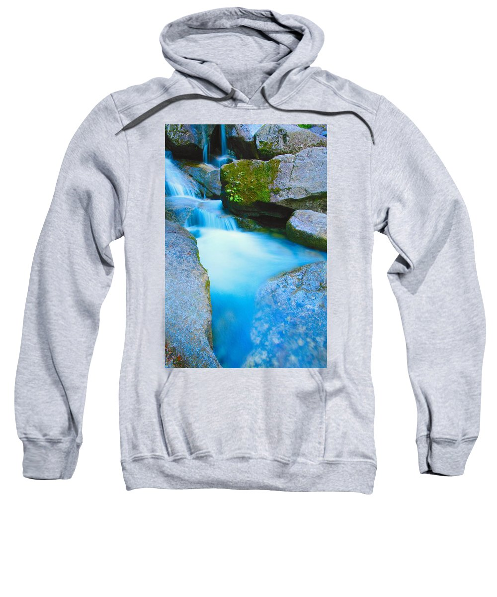 Blurred Motion Sweatshirt featuring the photograph Waterfall by Don Hammond