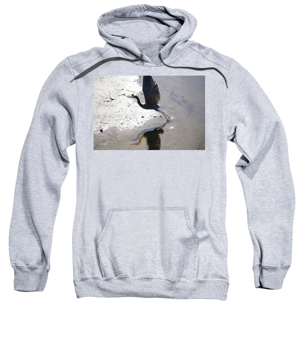 Roena King Sweatshirt featuring the photograph We Be Three by Roena King