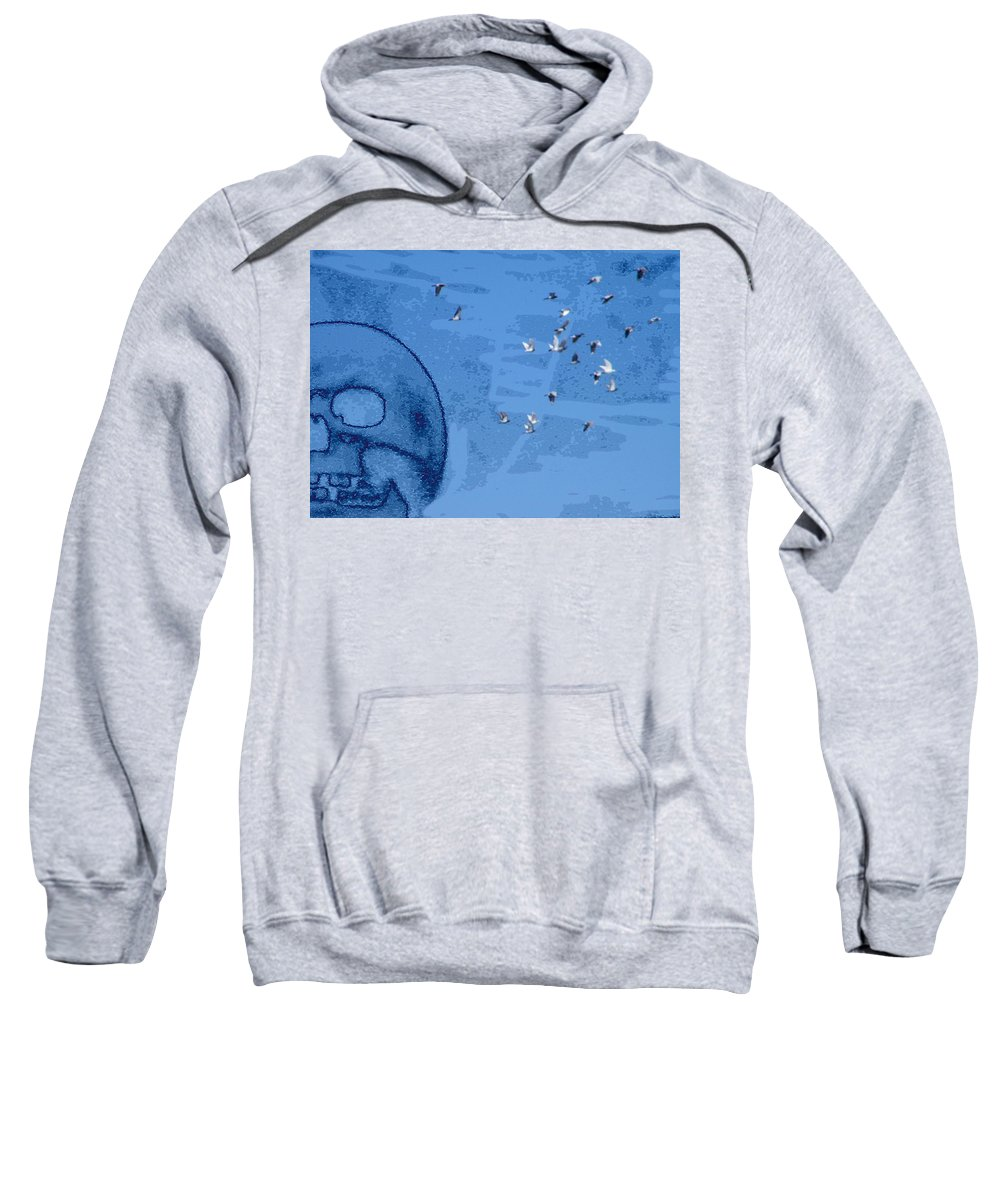 Abstract Sweatshirt featuring the photograph What We Know by Lenore Senior