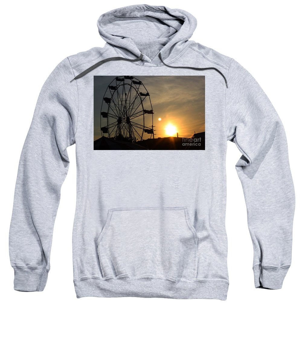 Summer Sweatshirt featuring the photograph Where Has Summer Gone by Tony Cooper