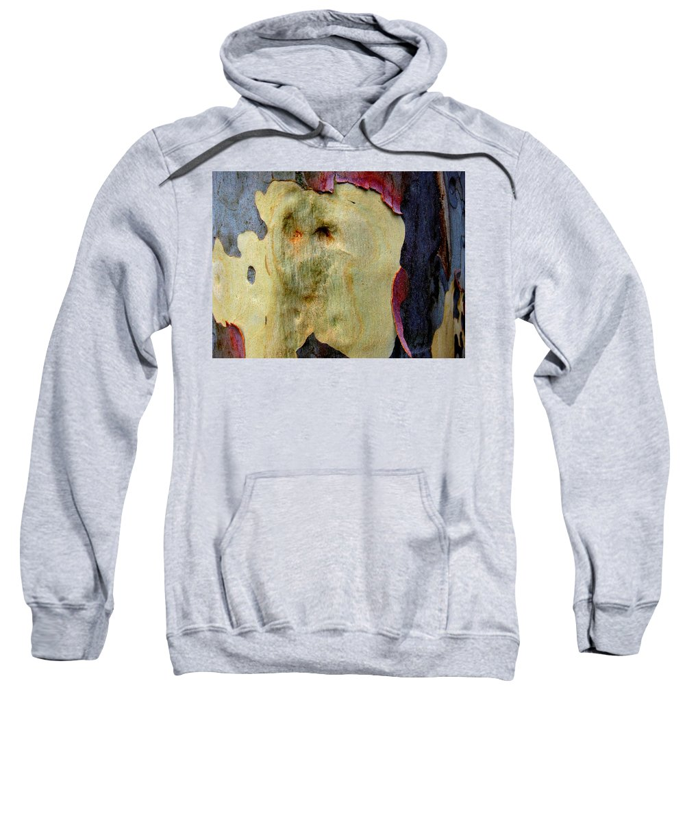 Trees Sweatshirt featuring the photograph Wild Red Berry Bark by Robert Margetts