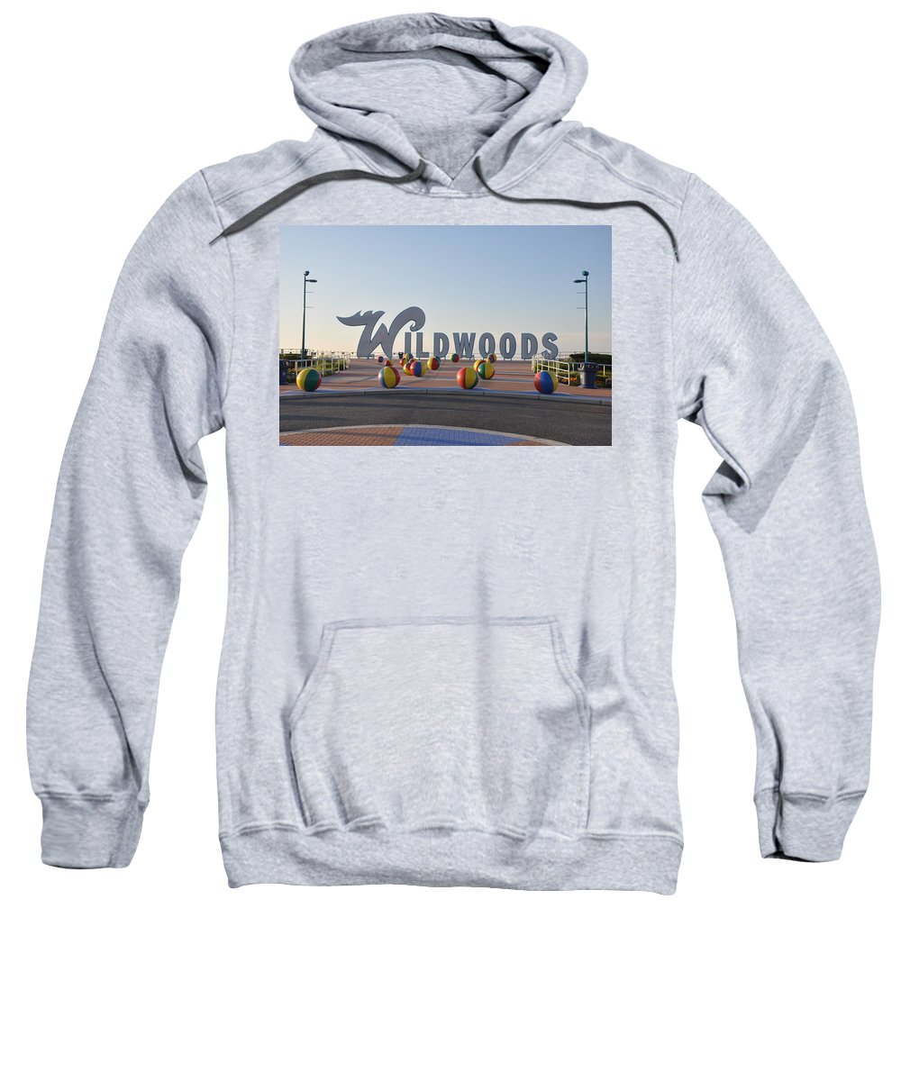 Wildwoods Sweatshirt featuring the photograph Wildwoods by Bill Cannon
